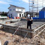姶良市西餅田にて ジブンハウス79A4LDK O様邸 建築開始