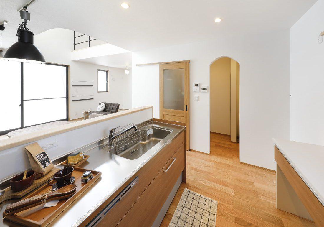 ジブンハウス810アリビオファムエディション:キッチン